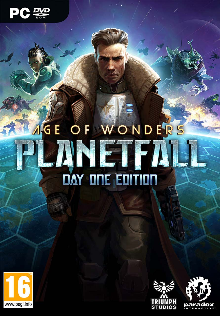 Cover - Age of Wonders: Planetfall