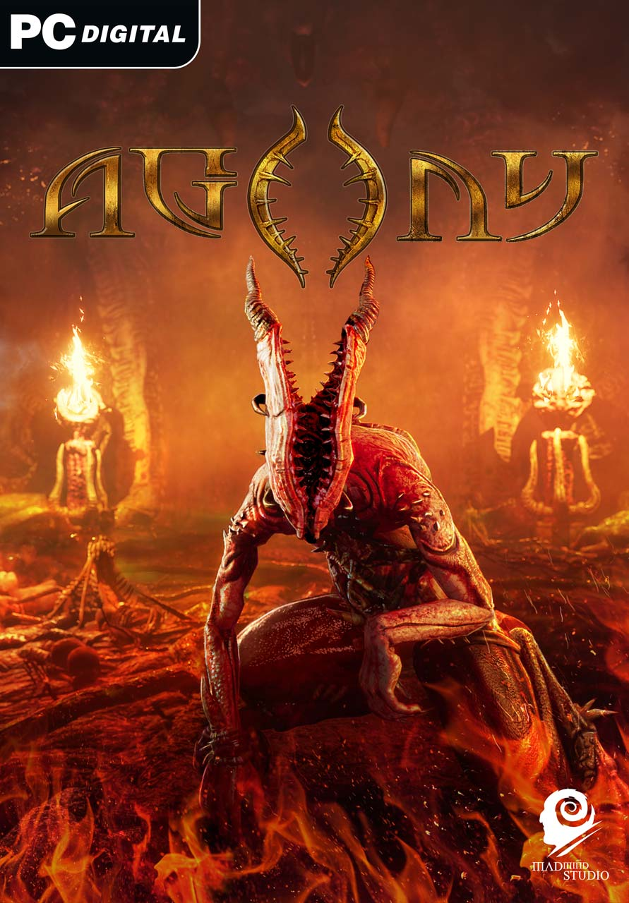 Cover - Agony