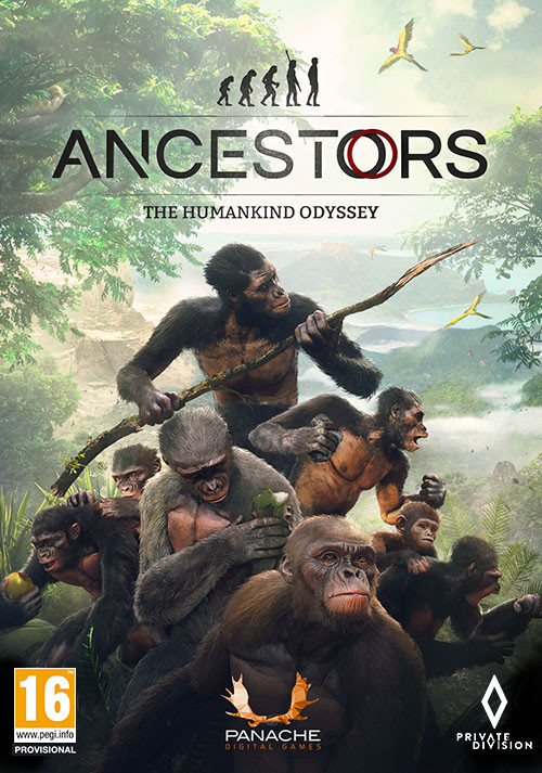 Cover - Ancestors: The Humankind Odyssey