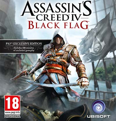 Cover - Assassin's Creed 4: Black Flag