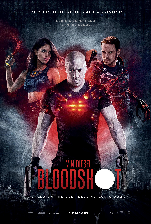 Bloodshot poster   Pixel Vault