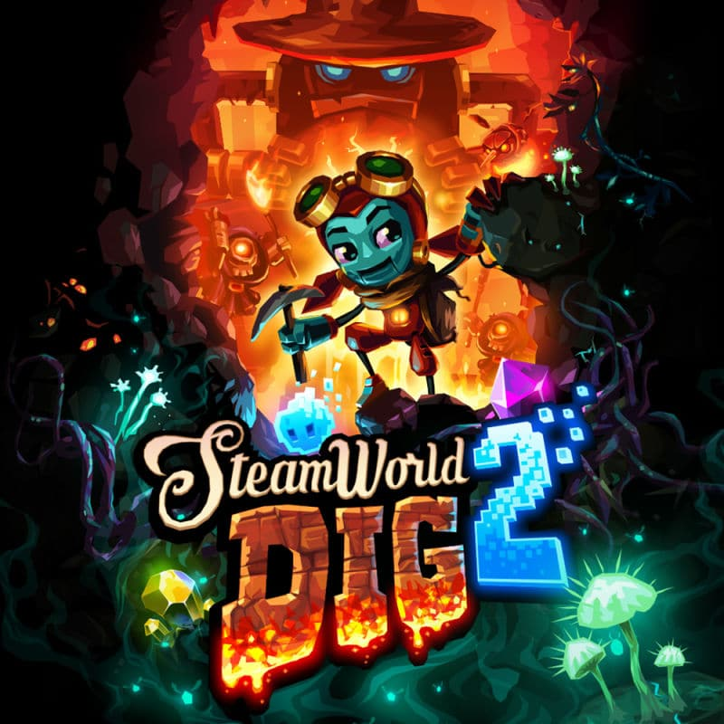 Cover - SteamWorld Dig 2