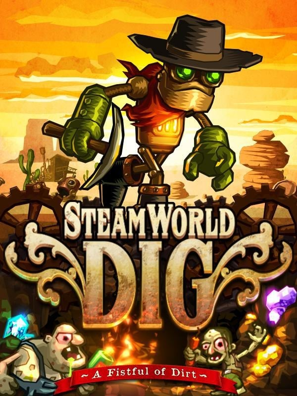 Cover - SteamWorld Dig