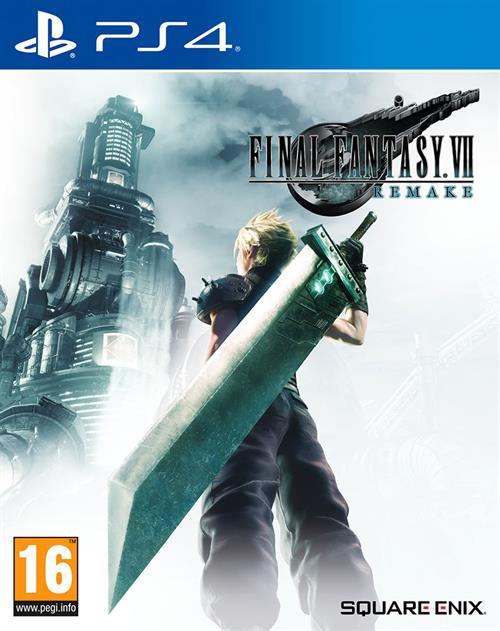 Cover - Final Fantasy 7 Remake