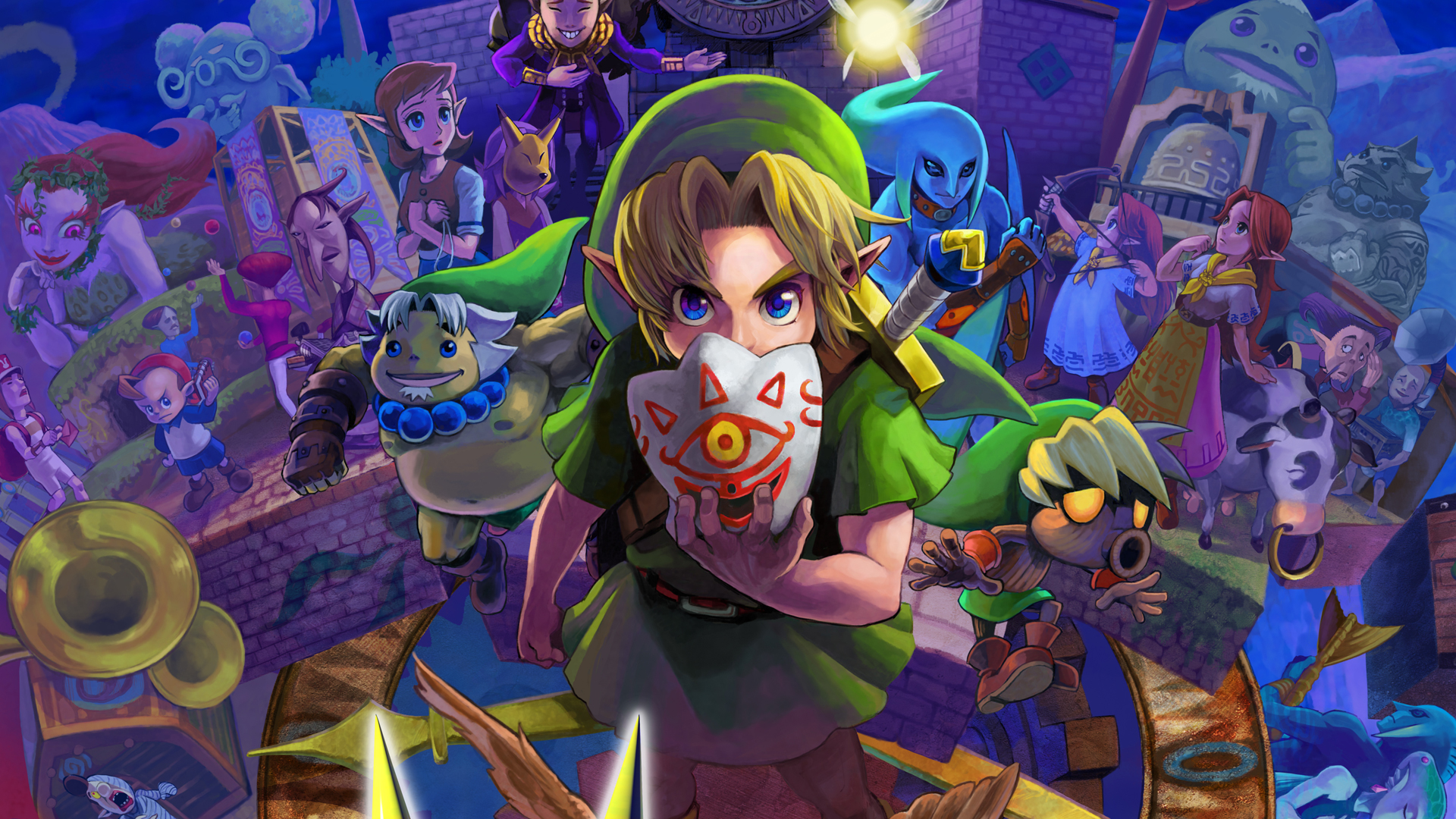 The Legend of Zelda: Majora's Mask | Pixel Vault