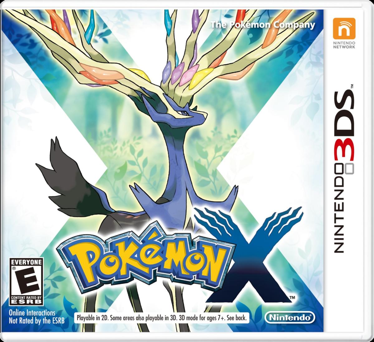 Cover - Pokémon X / Y
