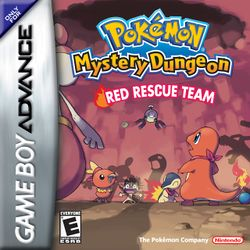 Cover - Pokémon Mystery Dungeon: Blue Rescue Team / Red Rescue Team