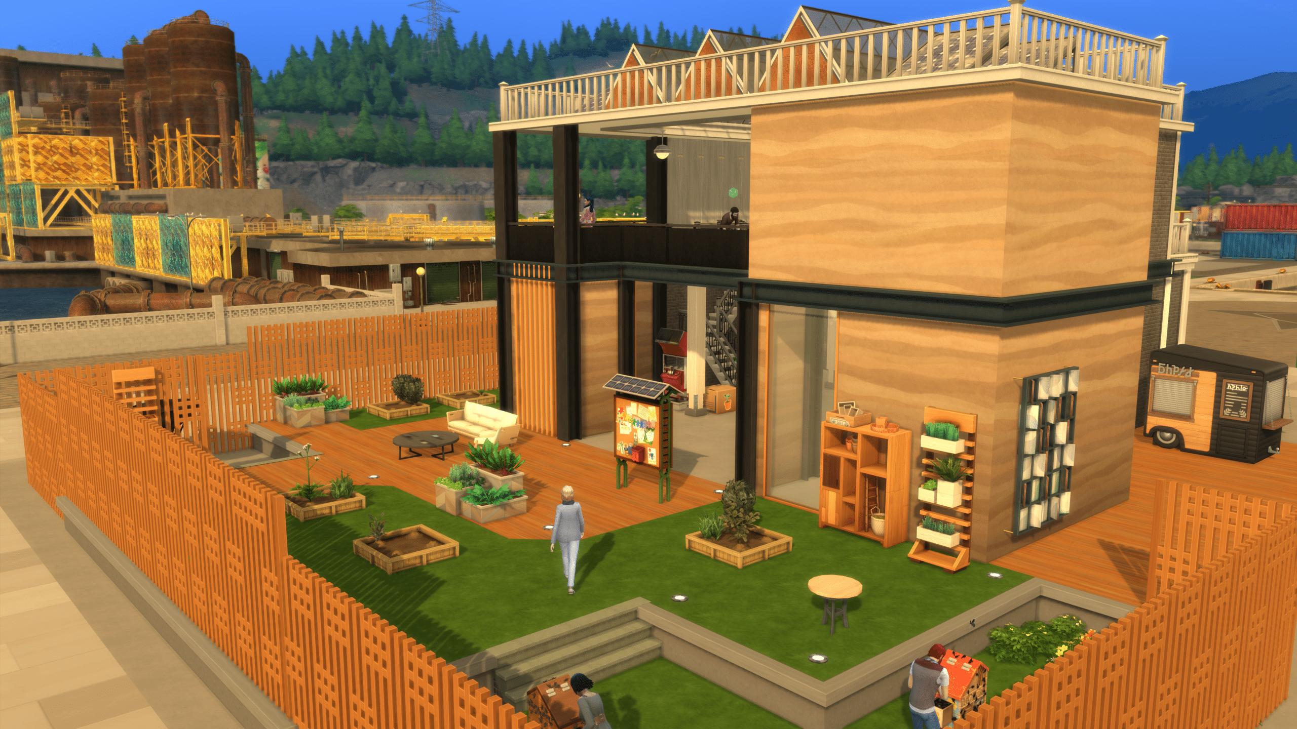 De Sims Ecologisch Leven