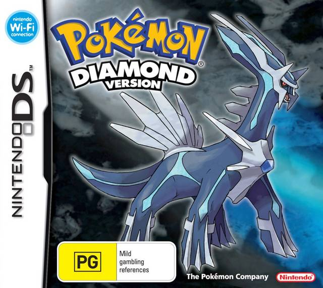 Cover - Pokémon Diamond / Pearl