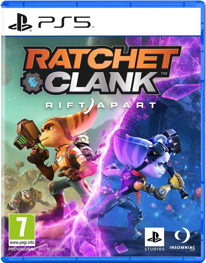 Cover - Ratchet & Clank: Rift Apart