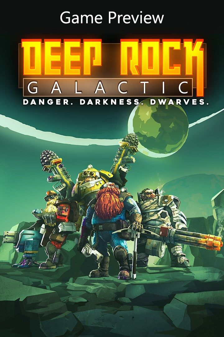 Cover - Deep Rock Galactic