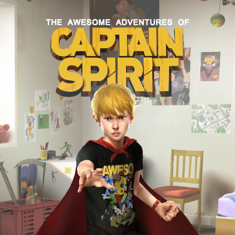 Cover - The Awesome Adventures of Captain Spirit