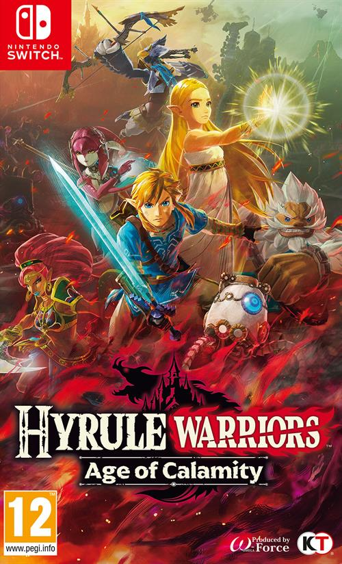 Cover - Hyrule Wariors: Age of Calamity