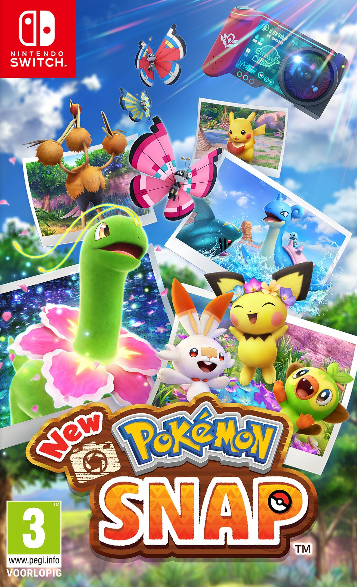 Cover - New Pokémon Snap
