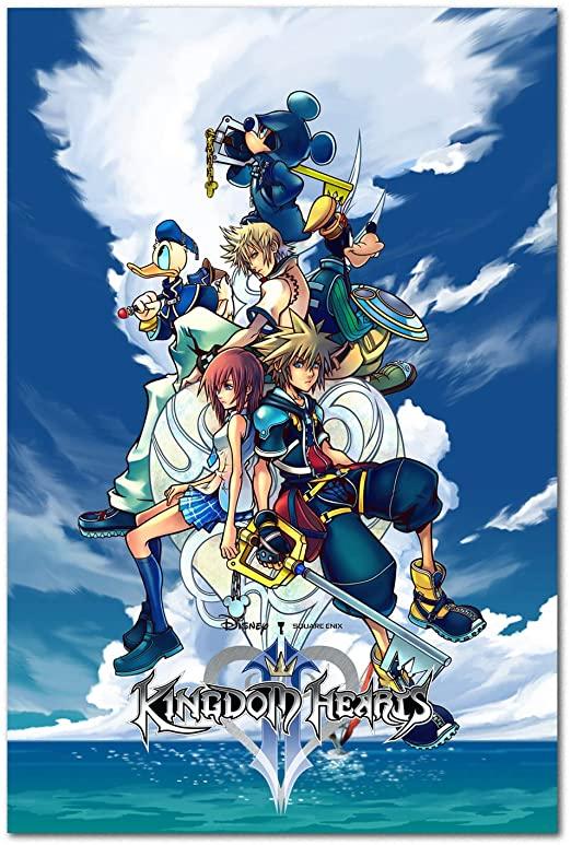Cover - Kingdom Hearts 2