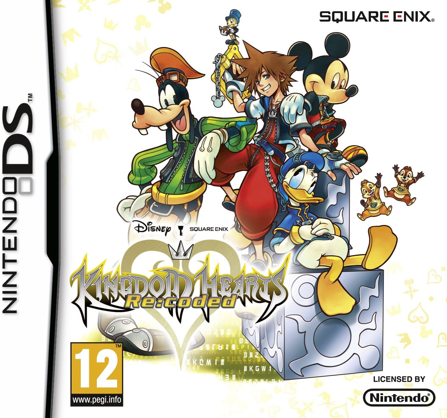 Cover - Kingdom Hearts Re:Coded