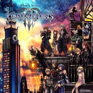 Cover - Kingdom Hearts 3