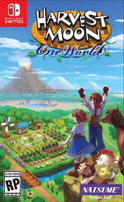 Cover - Harvest Moon: One World