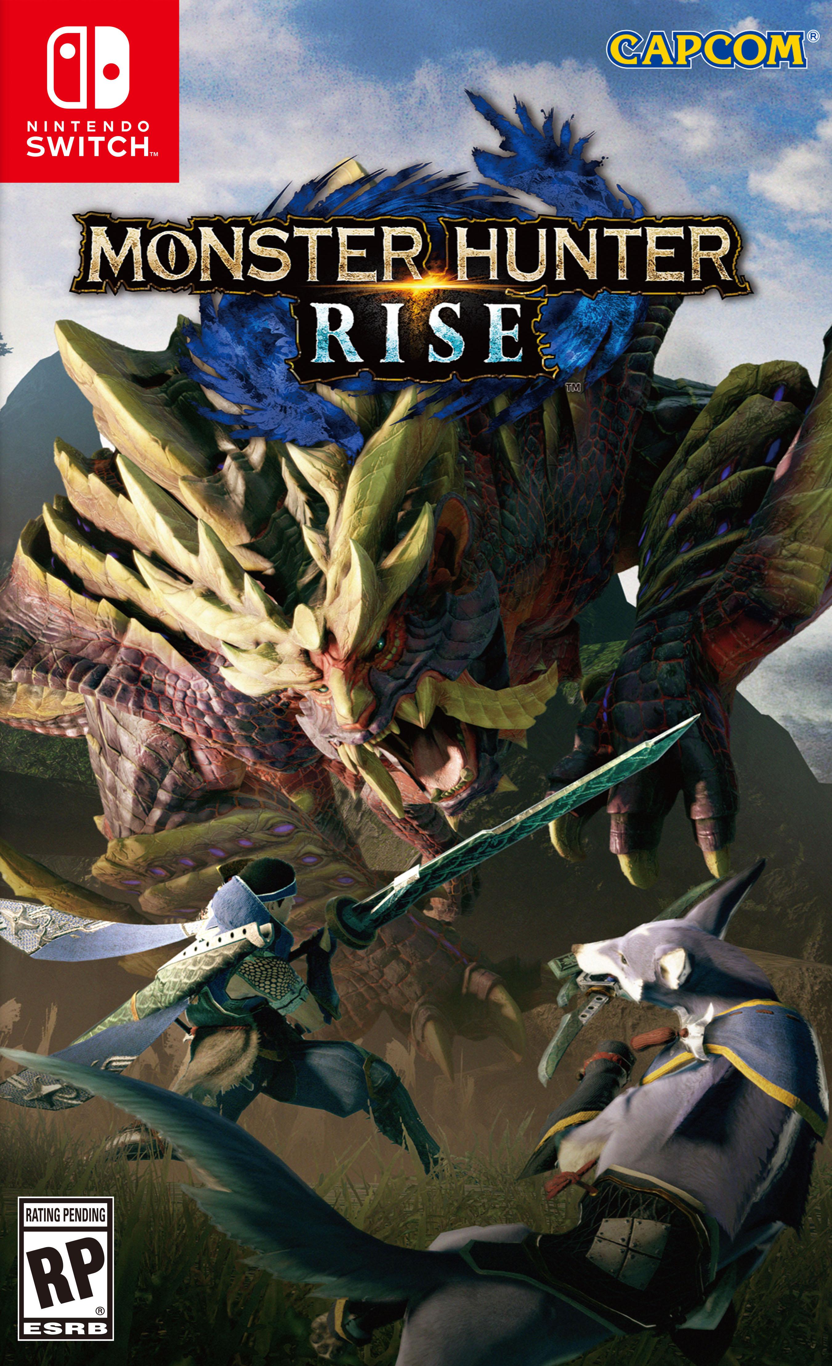 Cover - Monster Hunter Rise