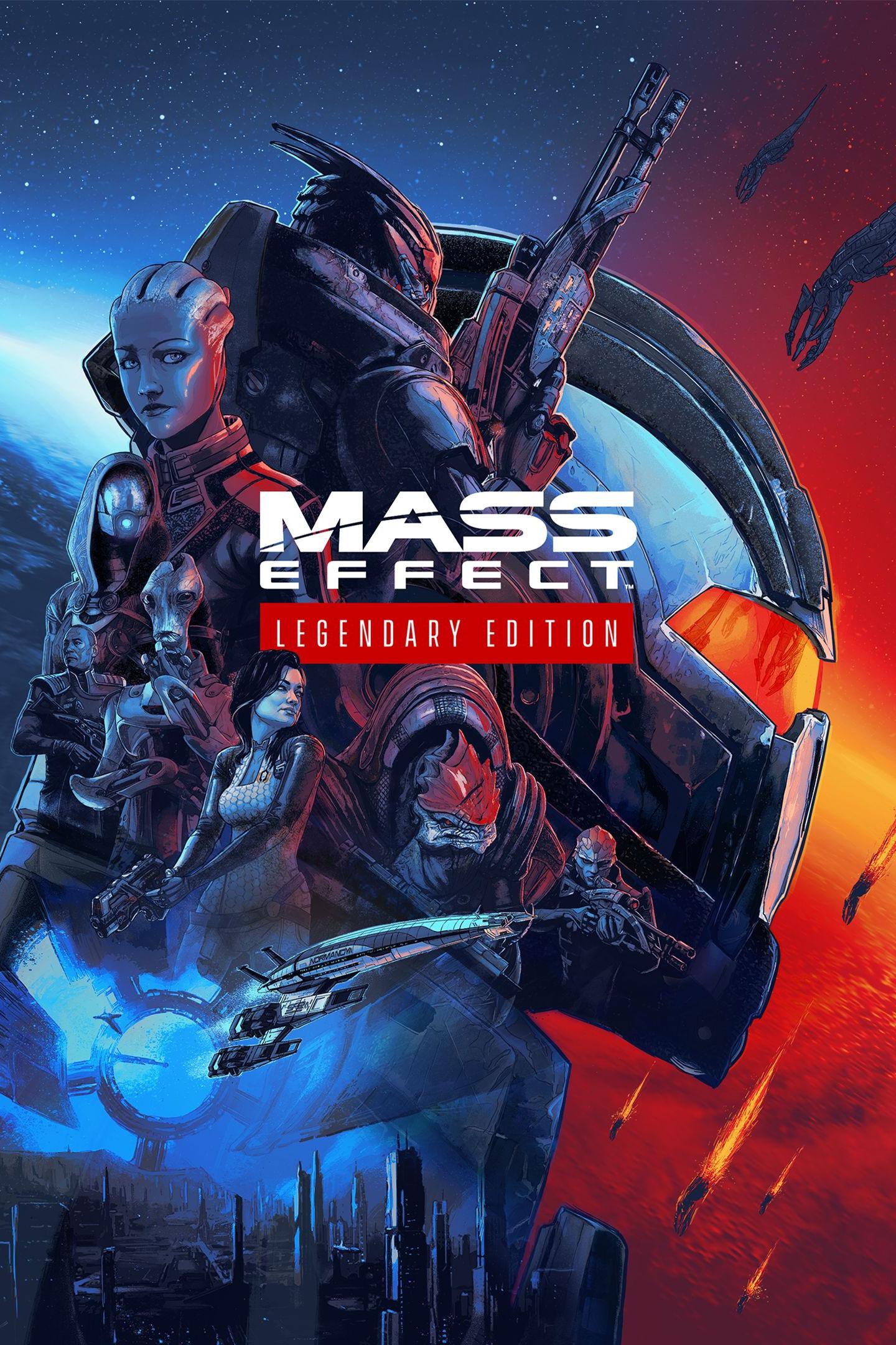 Cover - Mass Effect: Legendary Edition