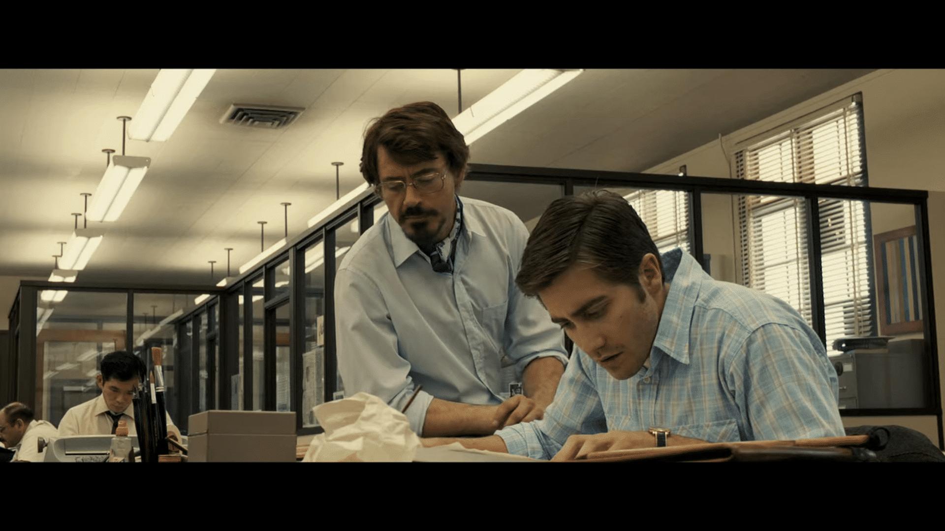 Robert Downey Jr. en Jake Gyllenhaal
