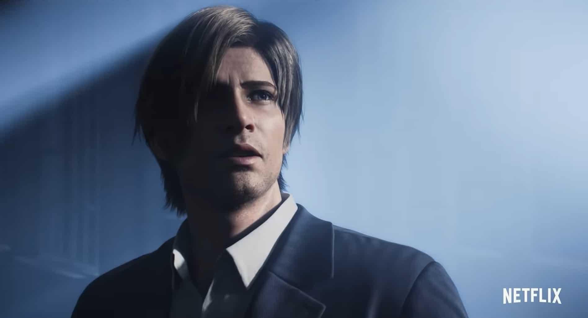 Leon S. Kennedy in de nieuwe Netflix CG-serie Resident Evil: Infinite Darkness