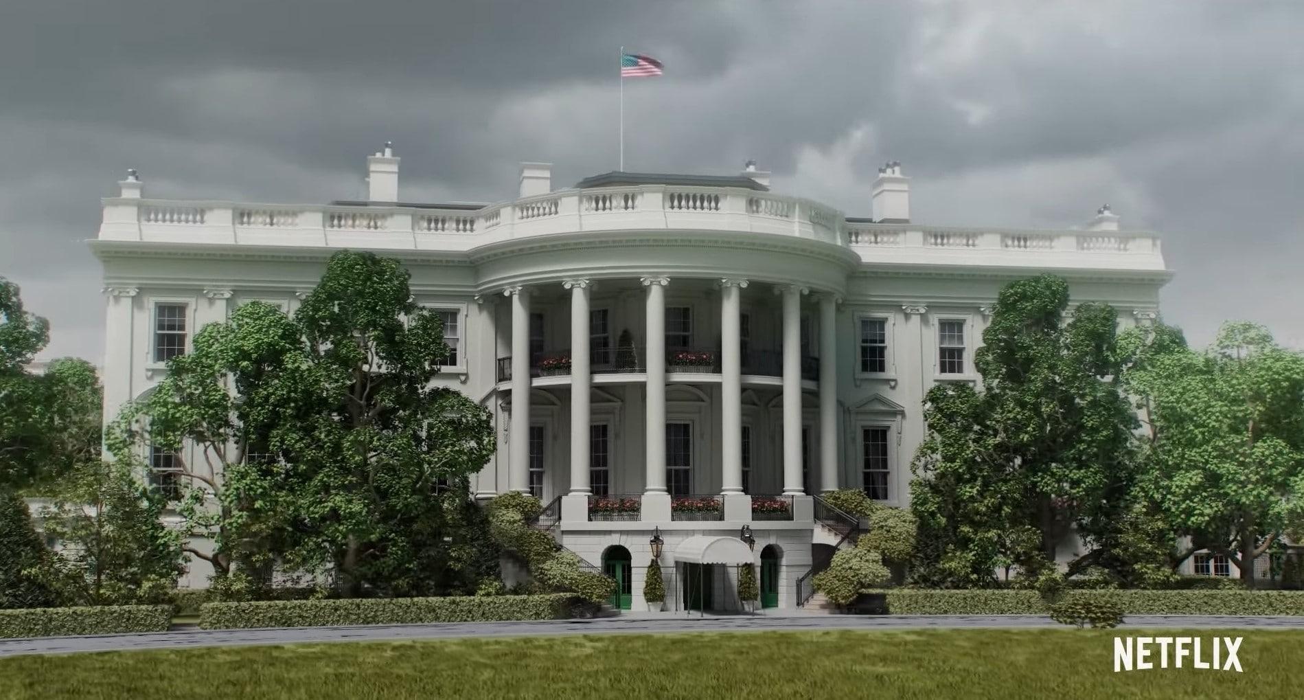 Het Witte Huis is een belangrijke locatie in de nieuwe Netflix serie Resident Evil: Infinite Darkness