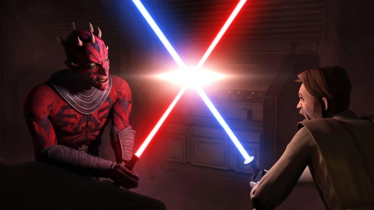 Star Wars Darth Maul Kenobi