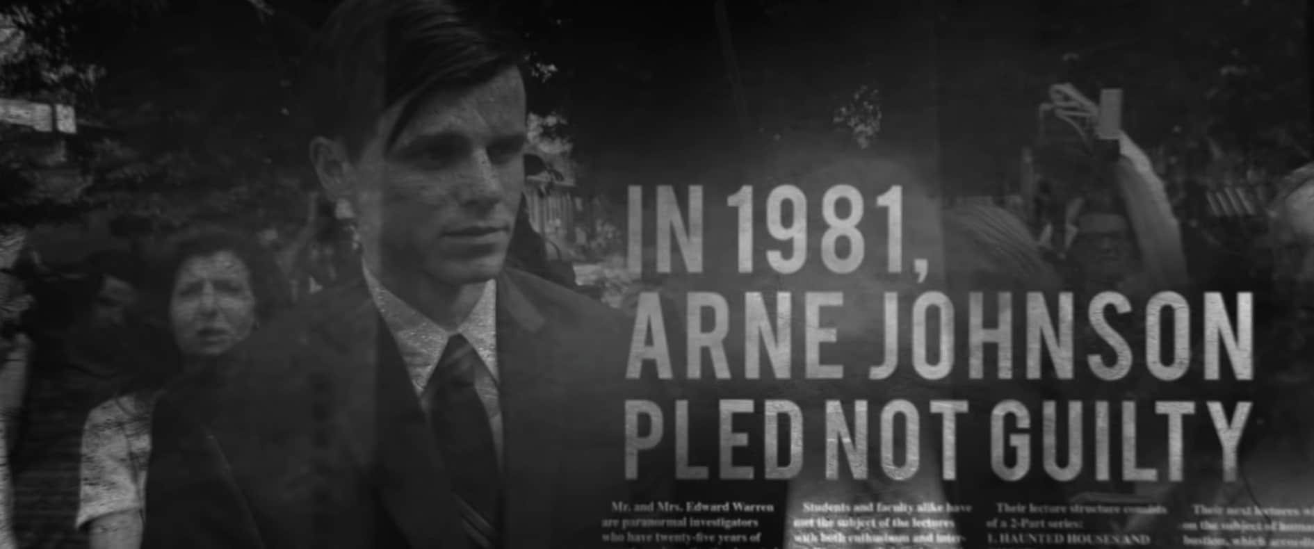 Rechtszaak van Arne C. Johnson in The Conjuring: the devil made me do it